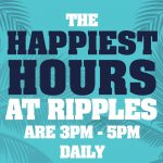 HAPPY HOUR – Daily – 3-5pm