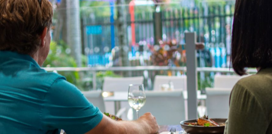 Outdoor licensed dining